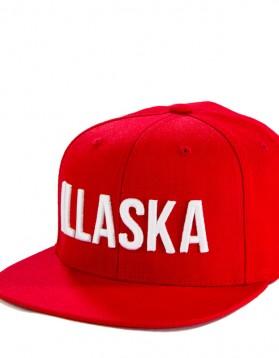 illaska-red-snapback